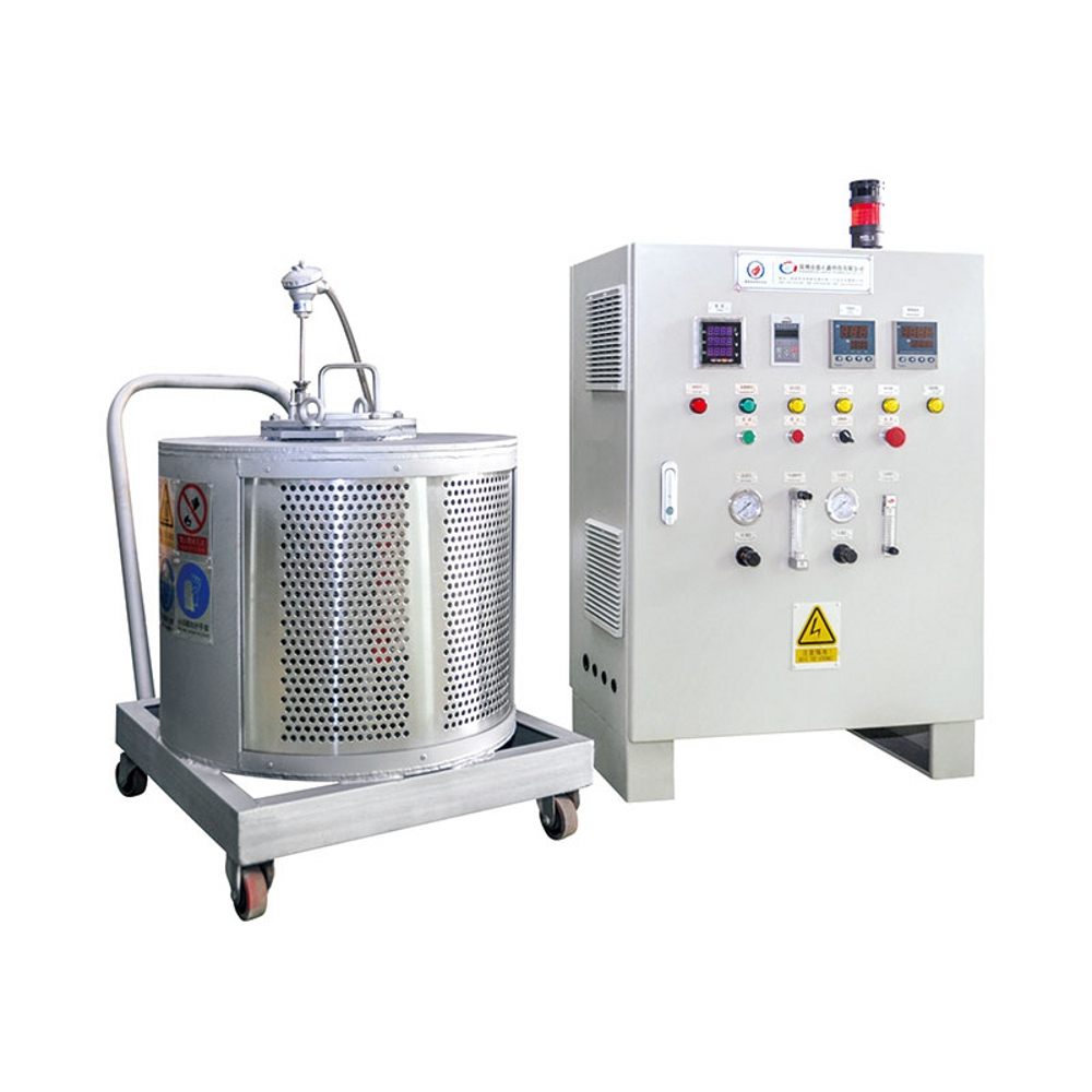 Experimental Magnesium Melting Furnace 45kg/h