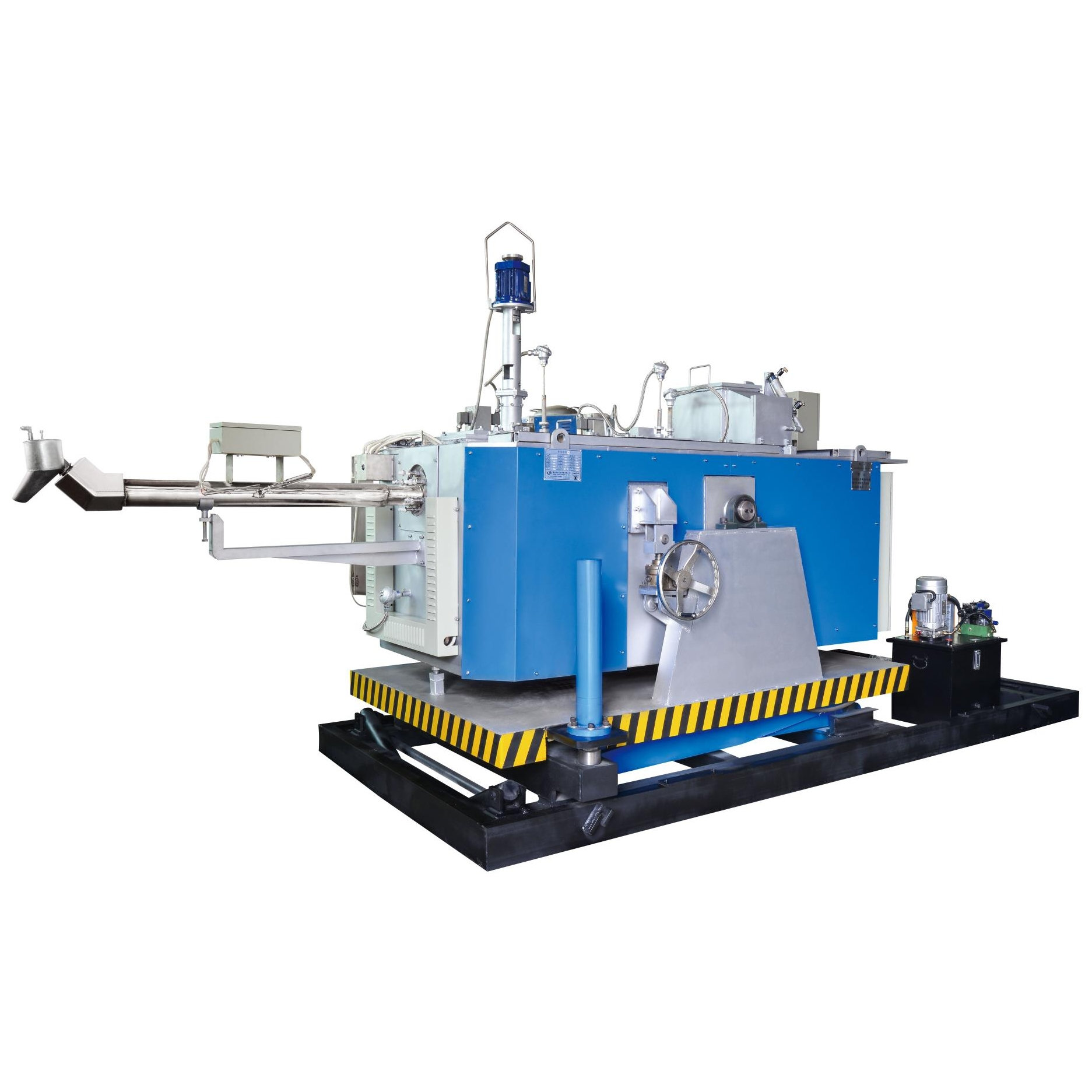 Electrical Magnesium Alloy Dosing Furnace 80kg/h