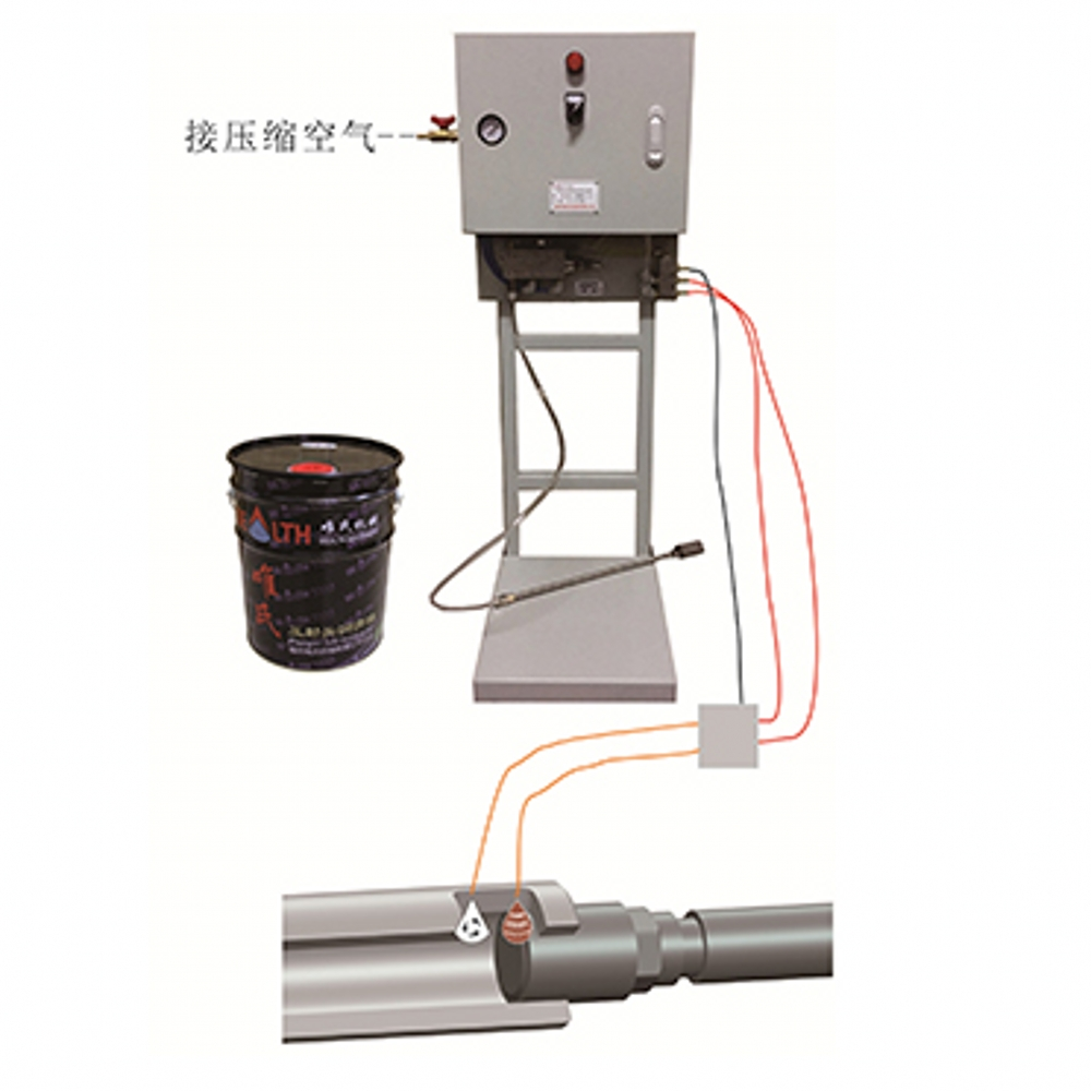 Oil Lubricating Drip Machine